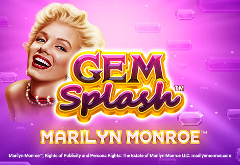 Gem Splash: Marilyn Monroe